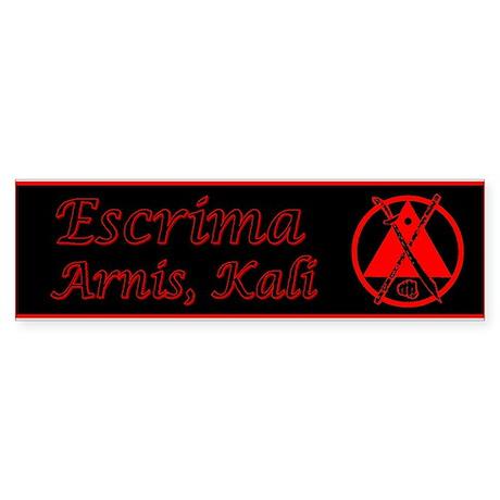 Escrima/Arnis/Kali Bumper Sticker