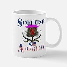 Scottish American Thistle Mug
