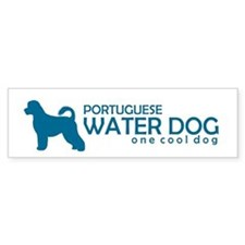 "P. Water Dog ""One Cool Dog"" Bumper Bumper Sticker"