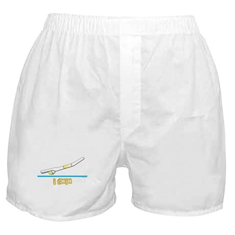 i swim (boy) yellow suit Boxer Shorts