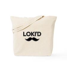 Lokid Black Tote Bag