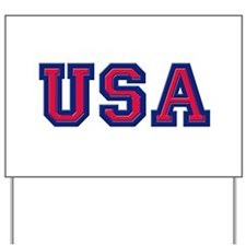 USA Logo Yard Sign