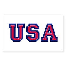 USA Logo Decal