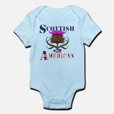 Scottish American Thistle Infant Bodysuit