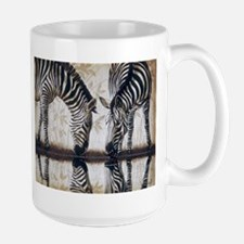 Zebras Reflections Mug