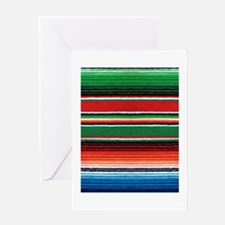 Mexican Sarape Design Greeting Card