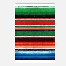 Mexican Sarape Design Postcards (Package of 8)