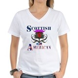 Flower of scotland Womens V-Neck T-shirts