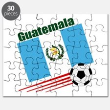 Guatemala Soccer Team Puzzle
