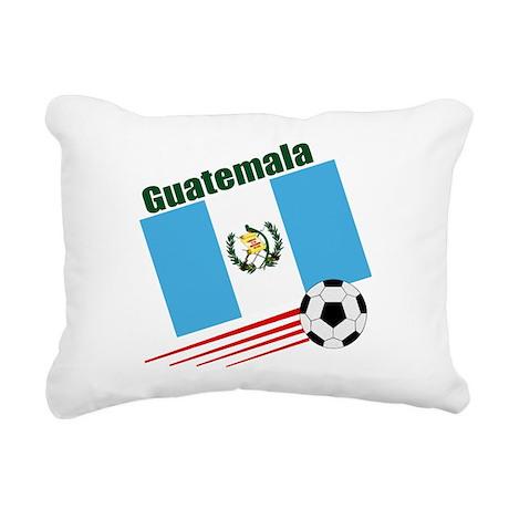 Guatemala Soccer Team Rectangular Canvas Pillow