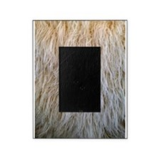 White Fur Picture Frame