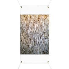 White Fur Banner