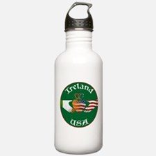 Ireland USA Connection Claddagh Water Bottle
