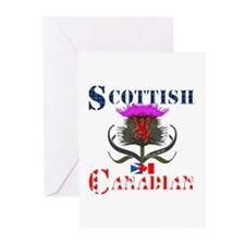 Scottish Canadian Thistl Greeting Cards (Pk of 10)