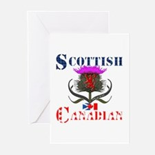 Scottish Canadian Thistl Greeting Cards (Pk of 10)