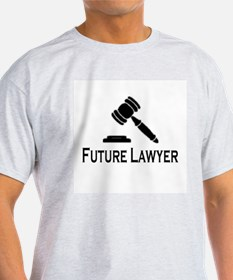 """Future Lawyer"" Ash Grey T-Shirt"