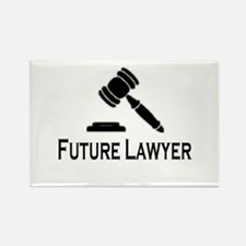 """""""Future Lawyer"""" Rectangle Magnet"""