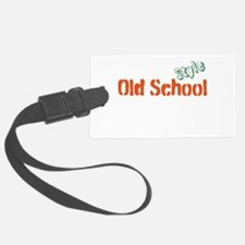 Old School Style Luggage Tag