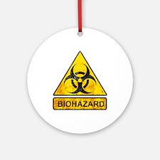 biohazard sign Ornament (Round)