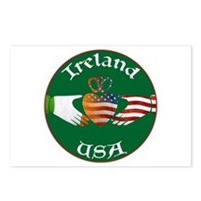 Ireland USA Connection Claddagh Postcards (Package