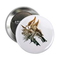 "Industrial wolf 2.25"" Button (10 pack)"