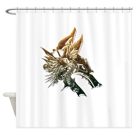 Industrial Wolf Shower Curtain By Serendipity Uk