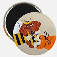 Dachshund Trick Or Treat Bee Magnet