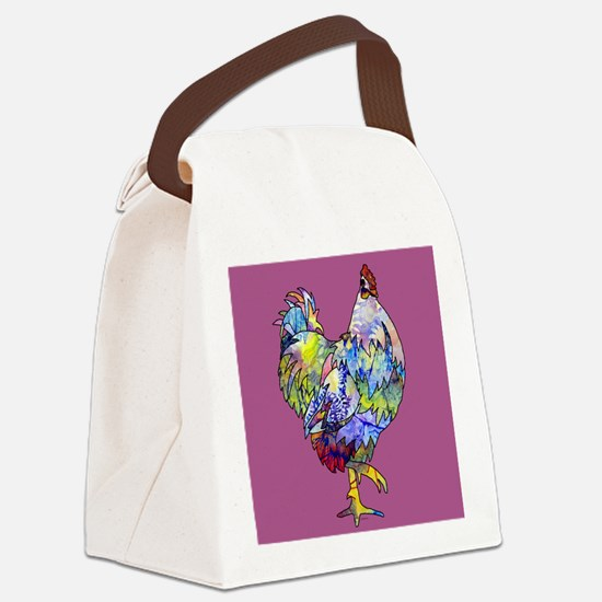 Wild Hen! Canvas Lunch Bag