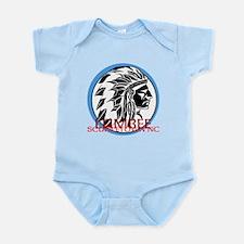 lumbee/scuffletown Infant Bodysuit