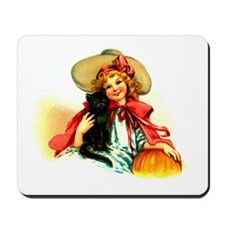 Little Miss Halloween Mousepad