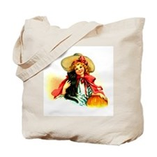 Little Miss Halloween Tote Bag