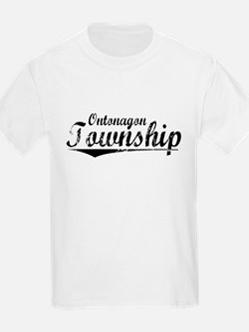 Ontonagon Township, Vintage T-Shirt