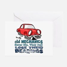 Mechanic Greeting Card