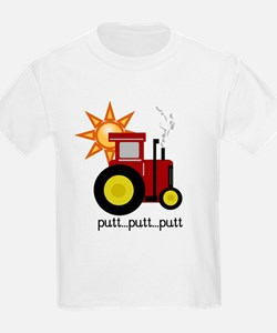 Red Tractor Kids T-Shirt