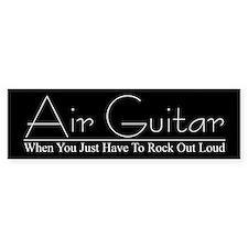 Air Guitar Bumper Bumper Sticker