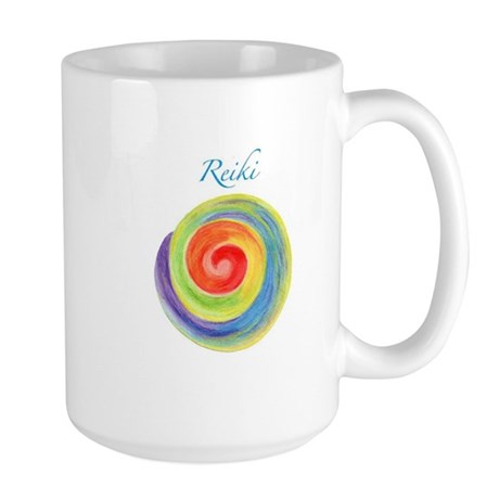 Reiki Chakra Large Mug