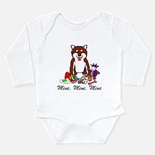 Shiba Mine Long Sleeve Infant Bodysuit