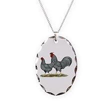 Dominique Chickens Necklace