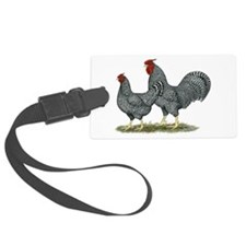 Dominique Chickens Luggage Tag