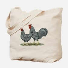 Dominique Chickens Tote Bag