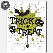 Trick Or Treat Halloween Splat Puzzle