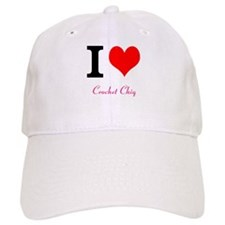 I love Crochet chiq Baseball Cap