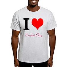 I love Crochet chiq T-Shirt
