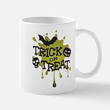 Trick Or Treat Halloween Splat Mug