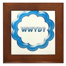 W W Y D ? Framed Tile
