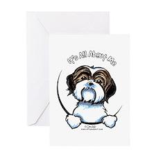 Shih Tzu IAAM Greeting Card