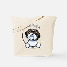 Shih Tzu IAAM Tote Bag