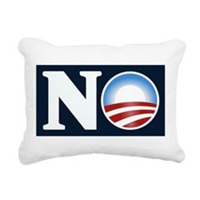 NO (to Obama) Rectangular Canvas Pillow