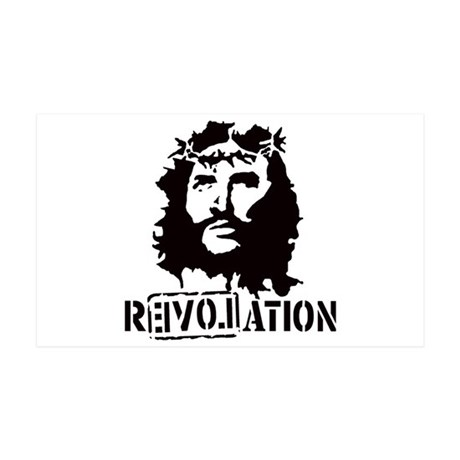 Jesus Christ Revolation 35x21 Wall Decal