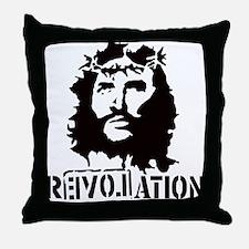 Jesus Christ Revolation Throw Pillow